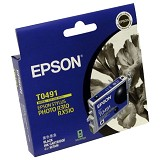 EPSON Black Ink Cartridge [C13T049190] - Tinta Printer Epson